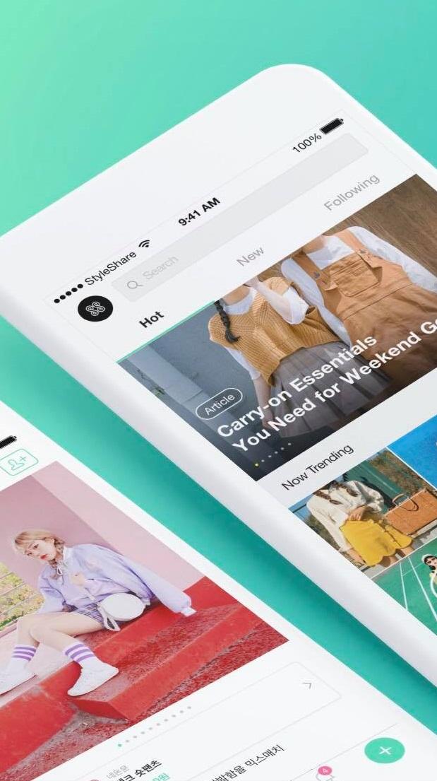 再來這位是「StyleShare」,它就是專屬穿搭分享的app啦~雖然不像ZIGZAG提供那麼多的商品,StyleShare跨的國界更廣且不限性別,用戶也幾乎都是來自世界各地的素人,能參考的穿搭就更多元更貼近生活啦~