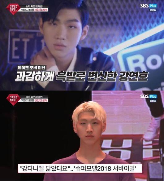 今年才要滿20歲的Kang Yeon Ho,因為外貌與姜丹尼爾相似,而相當受到評審青睞!