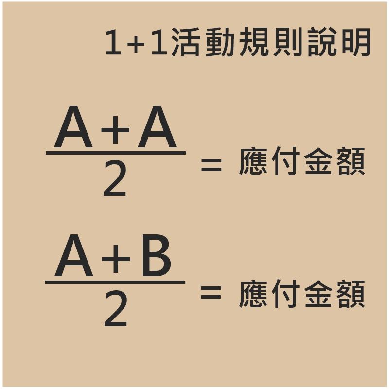 再次跟大家說明1+1規則~只要在當日限定的1+1品項中選擇妳想要的2項同樣的商品或是2項「不同」的商品都可以唷!2項同樣的A商品,應付金額就是(A+A)/2;2項「不同」的A、B商品,應付金額就是(A+B)/2,簡單來說買2樣商品只要付一半的價錢就好!11/8起天天都會有「當日限定」不同主題的1+1活動,請大家一定要天天鎖定WISHNOTE SHOP!