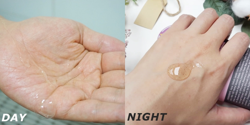 日用款沐浴乳是溫和低刺激的凝膠質地,能為忙碌的早晨迅速補充水分,深層保濕強化肌膚屏障。清爽的檸檬馬鞭草香氣能讓一天的開始充滿活力;而夜用款沐浴乳則是添加了磨砂顆粒可以溫和去角質、打造光滑肌膚,其中含有8種草本成分的清香,能用香氣來緩解疲勞,幫助入睡。2款香味、功效和質地都不同的沐浴乳,不只是能讓肌膚獲得最好的保護,也能用香味舒緩身心。