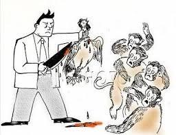 不過,楊的「歹毒心理」還是逃不過專家的法眼,據某司法研究所分析:楊是故意在公共場合以這種手段對A某施加暴力的,目的就是為了殺雞儆猴,讓員工不敢反抗他~~