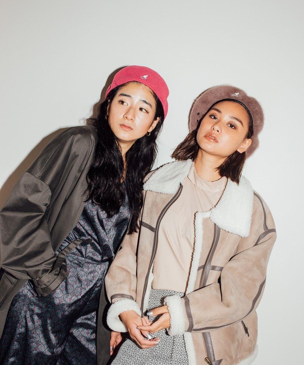 1.貝雷帽 無論長髮短髮都能輕鬆駕馭的貝雷帽,隨著服裝搭配,整體感覺可甜美也可知性,適合各位想在秋冬成為歐膩的女孩兒~