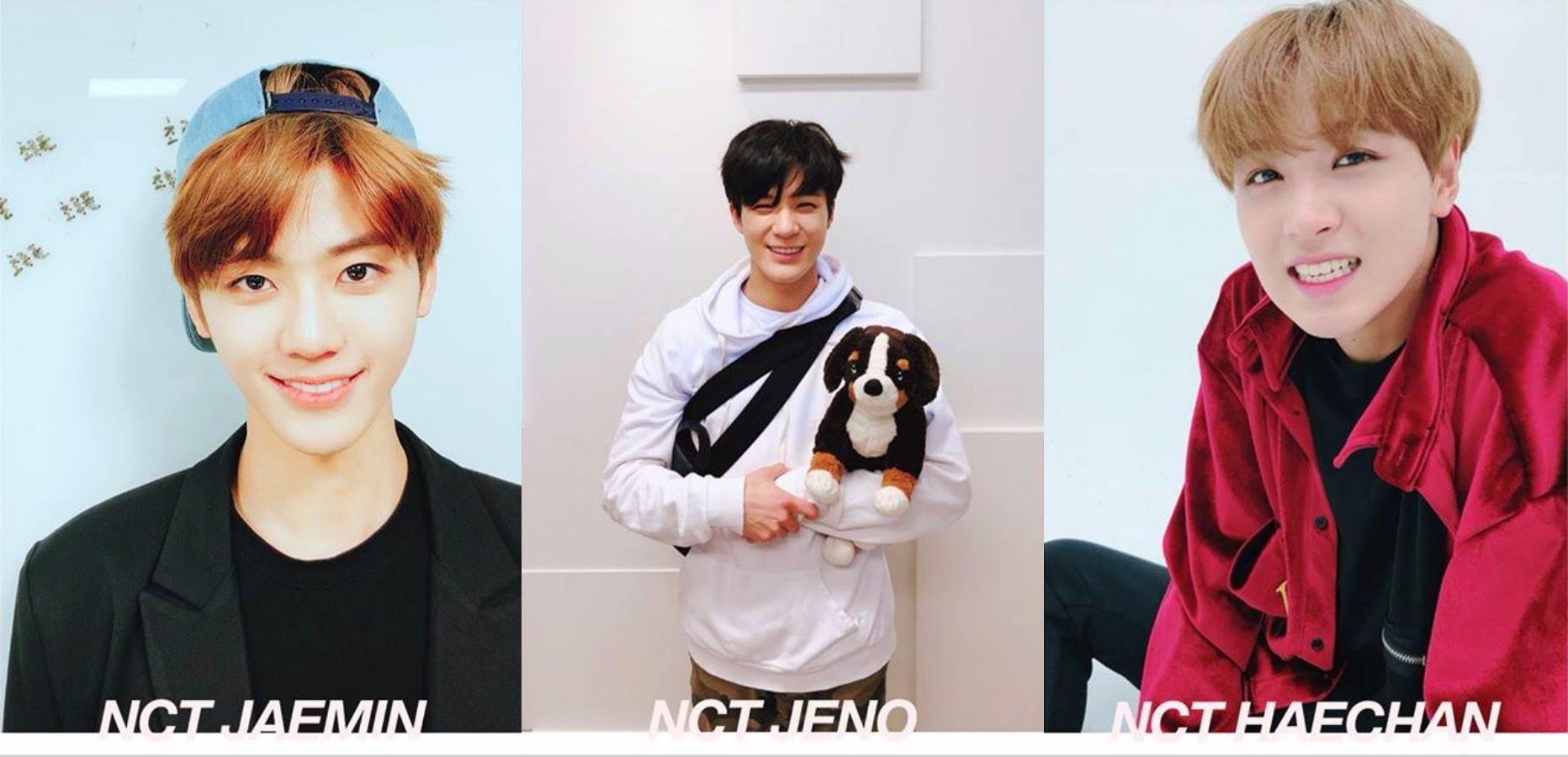 * NCT 渽民 & Jeno & 楷燦 皆為NCT Dream子團的三人也決定專注於idol活動上。