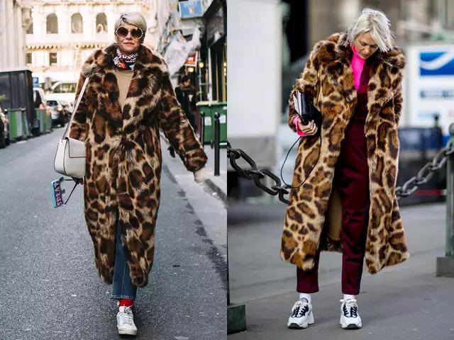 〝豹紋外套的選色搭配重點!〞 雖然豹紋系列是時尚界不敗的單品,但如果豹紋毛皮大衣沒有注意穿搭的話,可是一不小心就會顯老的! 而解決方案就是色彩的搭配! 先用牛仔褲、連身褲等休閒風單品來打底,接著配上螢光色、鮮艷顏色的飾品,就能帶出年輕的感覺! 鞋子的部份,休閒運動鞋就是最好的選擇啦!