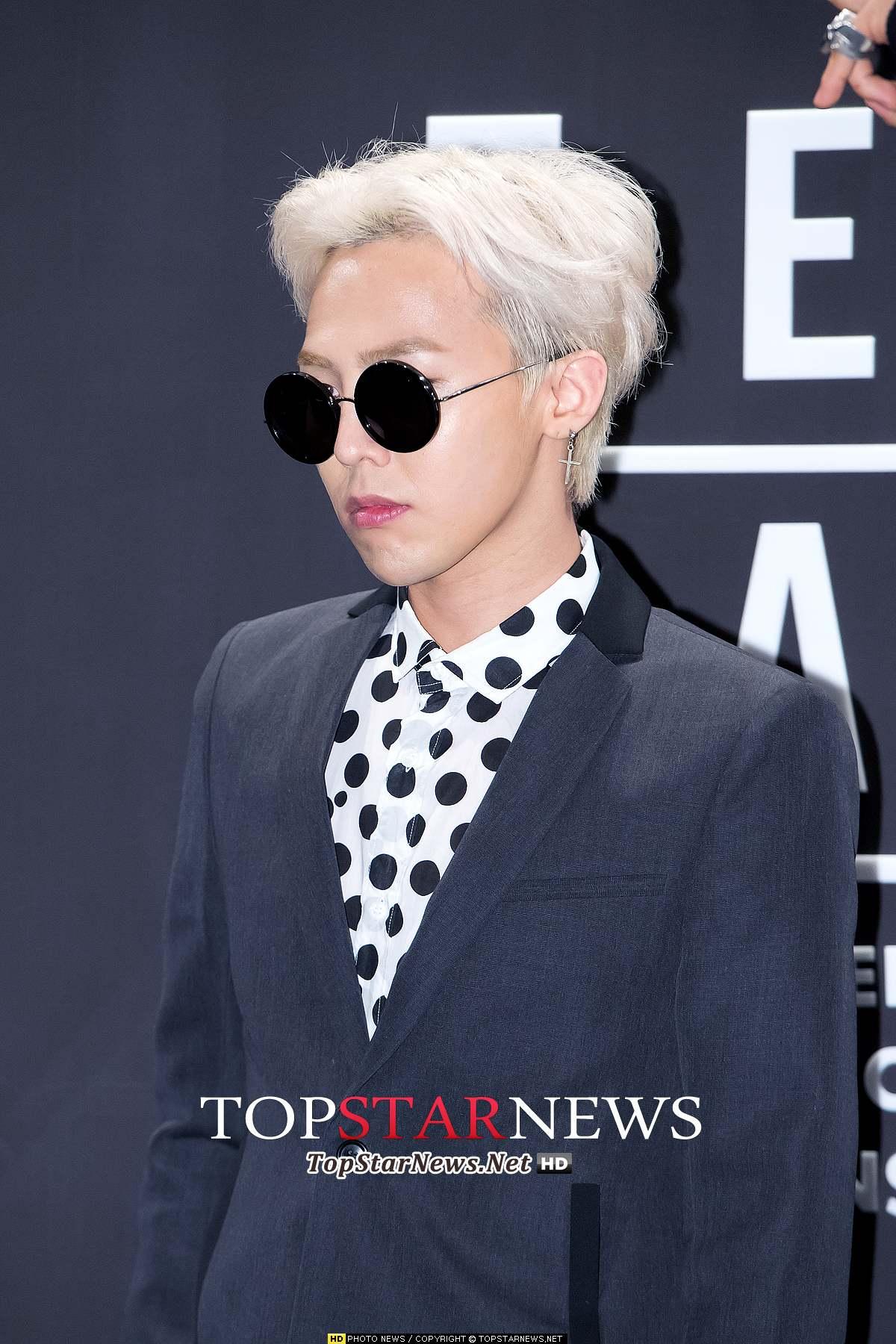 # BIGBANG - G-Dragon 時尚流行的代名詞就是GD!銀白髮可是他的經典髮色之一阿~~