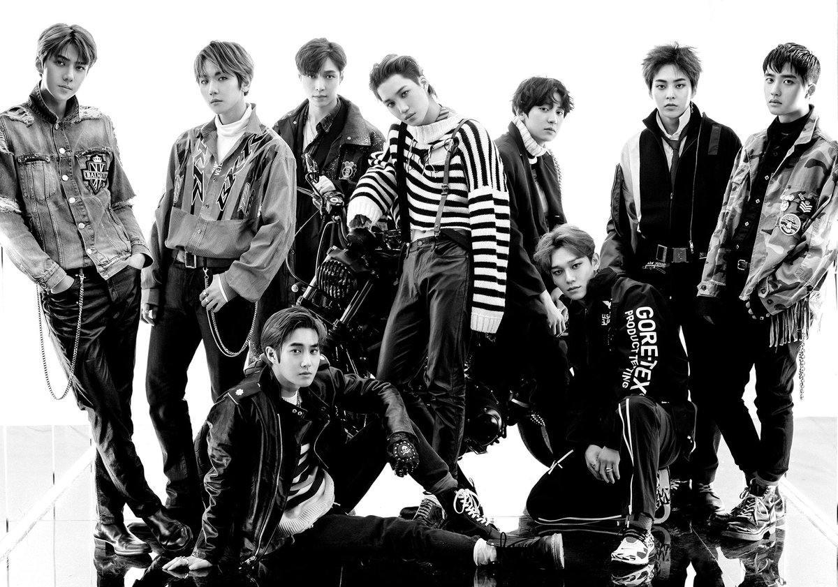#EXO 2012年4月以迷你專輯《MAMA》在韓國中國兩地出道的EXO,他們的合約時間可能還會再更長。作為K-POP代表性團體之一的他們,續約消息都是大家關注的一部分,若合約是以7年算的話就是明年了,不過SM娛樂的藝人合約時間可能更長。