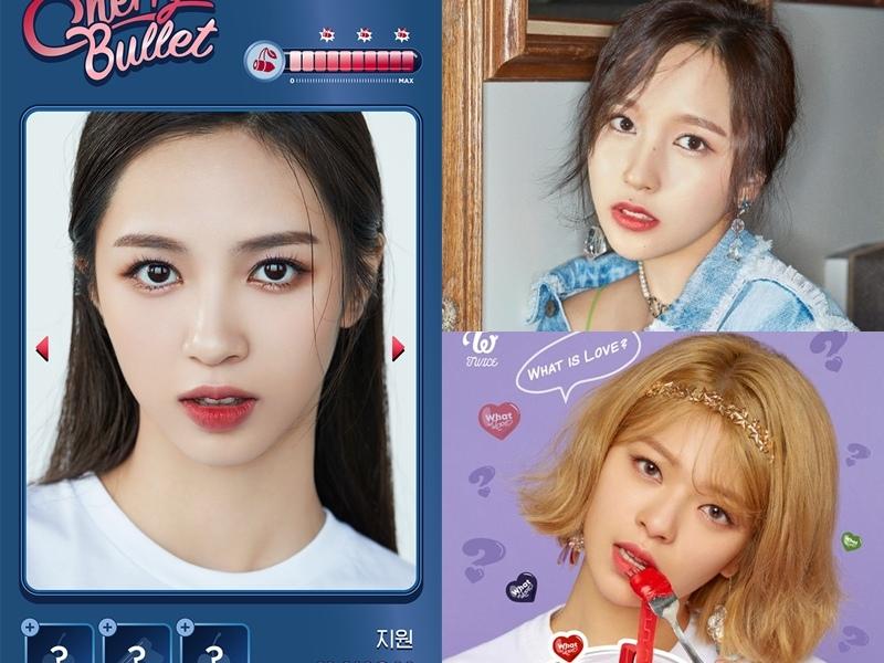 似乎真如網友所說,有點像是將Mina及定延的臉蛋綜合之後的模樣呢!