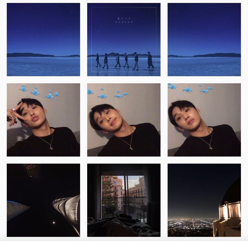 炫植:3張對齊型 炫植總是會一次上傳一系列的照片3張,讓版面看起來整齊一致(確定沒有強迫症XD?! 而他上傳的照片都很有fu,散發出藝術家的氣息~