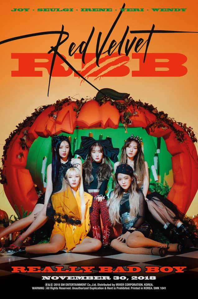 大勢女團Red Velvet即將於本月30日回歸,SM官方日前也陸續公布了每位成員的概念照,這次新歌歌名<REALLY BAD BOY>恰巧與之前的歌曲<Bad Boy>相呼應,讓許多粉絲對於這次的歌曲感到非常好奇,Red Velvet也在回歸前勤跑宣傳。
