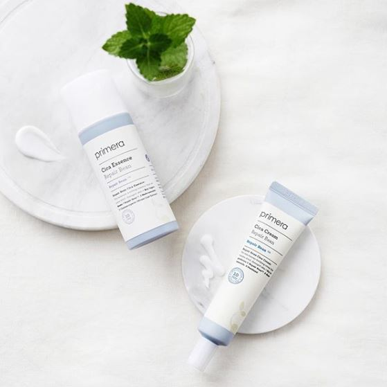 6、Primera cica care系列    最後要介紹個比較冷門的小牌產品,但它也是夠厲害才會出現在偽少女的清單裡呀ㅋㅋPrimera的CICA精華和乳液組,在韓國可是曾經一夕爆紅過的!這個產品被韓國專家分析並證實通過四大皮膚刺激測試,甚至被評為零敏感成份的護膚精華,不僅可以穩定膚況,還能幫助改善已受損的皮膚問題,又是個感覺很厲害的選擇啊~