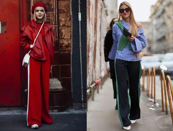 4、運動長褲+同色系針織上衣    最後是想把運動風搭好的一大關鍵,「不同材質的同色系搭配」。依褲子上有的顏色找出同色系的上衣、外套甚至配件,運動服穿搭的失敗率就會大幅減少啦~那竟然是要來迎戰冬天的穿搭,針織上衣會是一個很好的選擇,像左圖少女的同色穿搭示範,製造假連身褲的視覺,甚至可以讓妳有+5公分的錯覺!小隻女可以快把這套筆記下來了~
