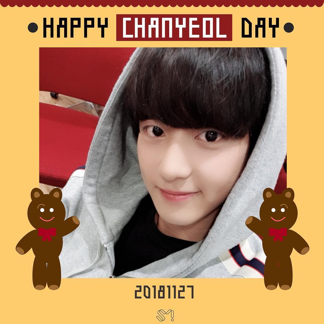 另外,燦烈在11 月 27 日度過26歲生日,EXO官方Instagram也上傳燦烈的照片慶祝他的生日。