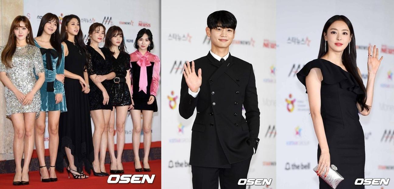 AAA Asia Brilliant獎:崔珉豪、李多熙、AOA