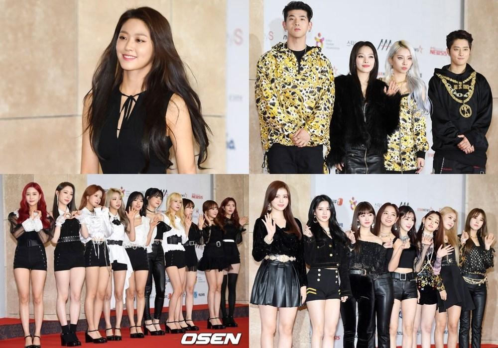 New Wave獎:KARD、宇宙少女、gugudan、金雪炫