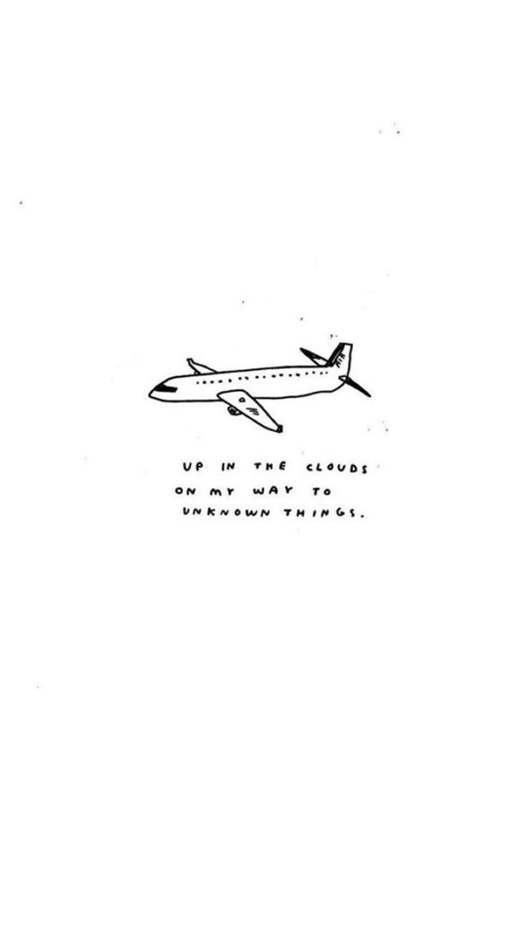 簡單的白色背景,利用飛機的手繪圖,配上文字,看了有沒有好想去放鬆啊?