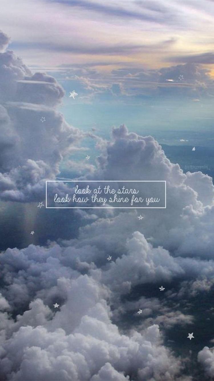 或者是配上超美雲彩圖,這張放上去感覺心境都變寬闊了呢!