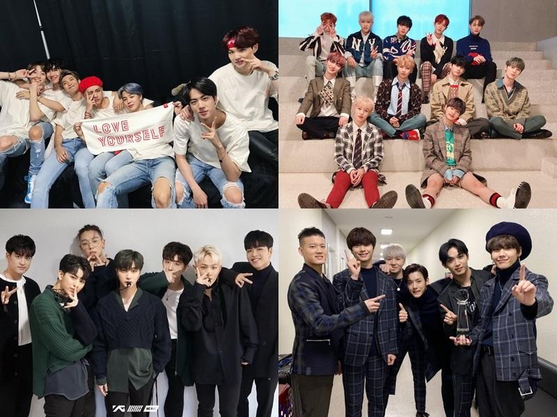 偶像男團的部分目前確定出演的包含 防彈少年團、Wanna One、iKON、BTOB,光是這四組就覺得獎項的競爭會相當激烈呢