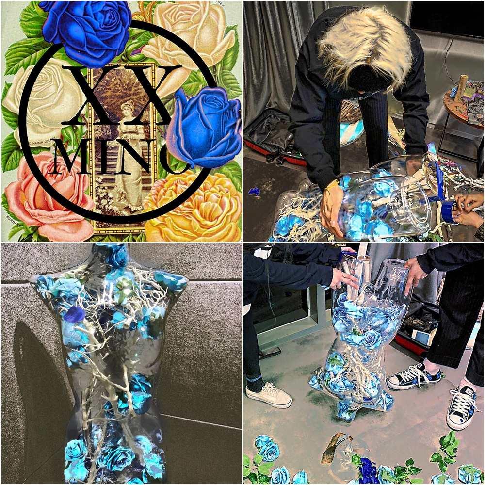 在《音樂銀行》上演唱專輯裡的抒情歌曲《Her》背後舞台的設計宋旻浩也參與製作設計,在人像玻璃模型裡放進滿滿的藍玫瑰,宋旻浩曾說過很喜歡藍玫瑰「希望、奇蹟」等花語加上WINNER應援色也是藍色覺得很有意義,身上同樣有藍玫瑰的刺青。