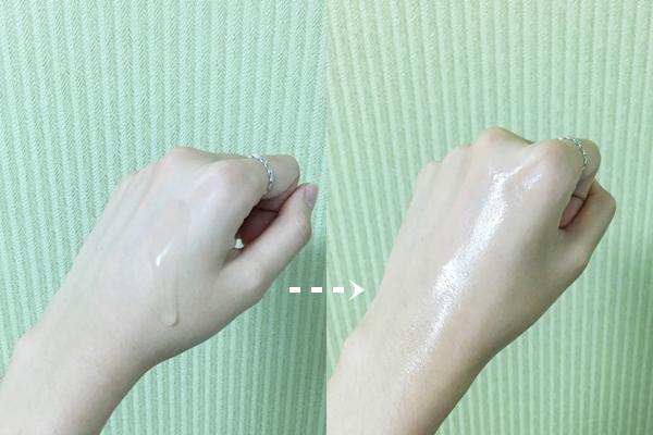 先用化妝水輕柔整頓肌膚後再使用保濕乳液輕拍整個臉,使橄欖的精華更快滲透進肌膚裡~而乳液的質地算是非常輕盈水潤的,即使是油肌或混合肌,春夏只要用橄欖真萃保濕化妝水+乳液保養就非常夠了!吸收速度也快,即使是悶熱的夏季,使用後也不會煩悶黏膩。