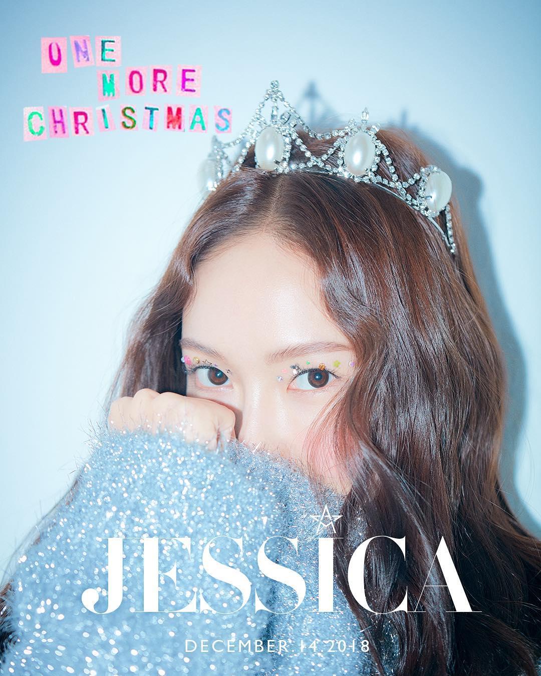 即將在12/14發行聖誕單曲的JESSICA昨日在IG上更新了一段限時,內容就是有人比我們搶先了一步聽到了她的新歌《One More Christmas》啦!到底是誰有這種特權~~~