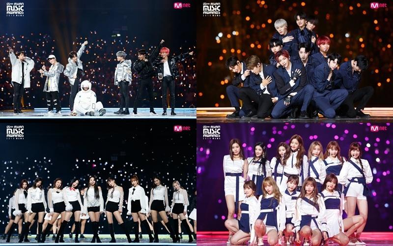 除了以上,包括防彈少年團、Wanna One、TWICE、IZ*ONE、GOT7、善美、Roy Kim、宇宙少女、OH MY GIRL等也預計將在香港MAMA帶來華麗舞台表演!