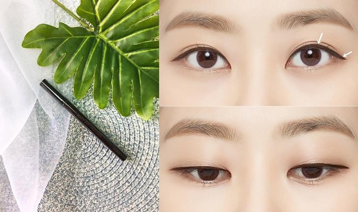 #A'PIEU 持久霧面眼線筆: 這款眼線筆同時兼具了眼線筆好上手及眼線液俐落妝感的優點。不同於一般的刷毛型筆頭眼線液,這款眼線筆的筆頭像是極細麥克筆般,有彈性的筆頭能輕易勾勒出俐落的眼尾,還能填補連彩妝老手都不太會畫的內眼線,讓眼妝看起來更加完美。眼線新手們要挑選眼線產品的話,就請選像這種麥克筆型的筆頭~