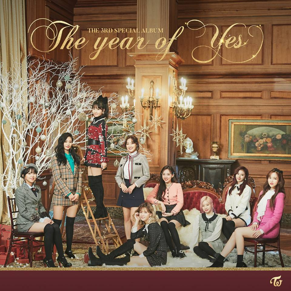 TOP 1 TWICE 專輯總銷量:1,247,005張 看銷量差點以為是男團的TWICE,今年平均3個月一回歸,活躍在韓國及日本的音樂圈,11月初才發行的歌曲〈YES or YES〉MV也在39天之後(12/14)成功破億,展現大勢女團的高人氣,感謝所有ONCE的努力XD 而年末TWICE也發行了特別專輯《The year of