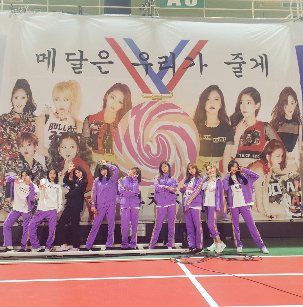 韓國電視台MBC年度重點特輯《偶像運動會》在昨天進行錄影,今年同樣有許多比賽項目,參加的愛豆包含TWICE、iKON、I*ZONE、NCT、GFriend、gugudan等等多組偶像團體,討論度和往年一樣發燒
