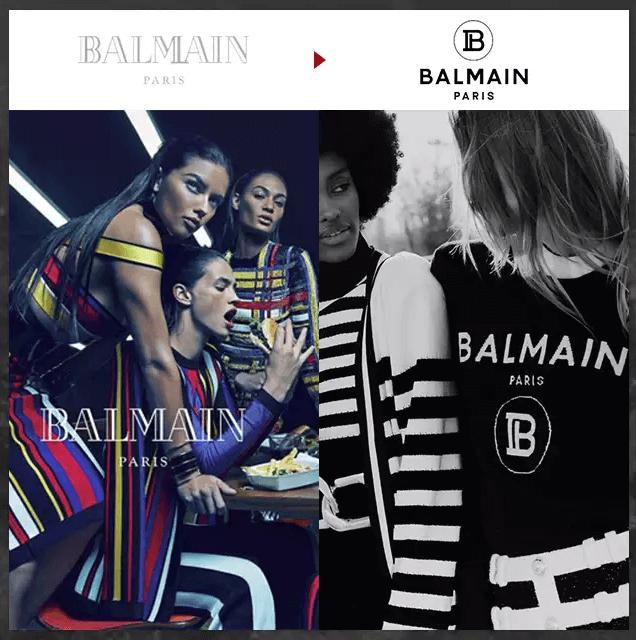 『品牌的意義:BALMAIN』 BALMAIN的時尚總監Olivier Rousteing 在發表2019 Pre-Fall系列的同時,也更換品牌LOGO。看起來是B卻又像是和P字母結合的字體別具意義,P代表品牌創辦人Pierre Balmain,也代表了該品牌的總部Paris。隔了70年更換LOGO的ALMAIN將新的LOGO設計展置於皮帶、上衣等產品上,全面性的呈現在大眾眼中。
