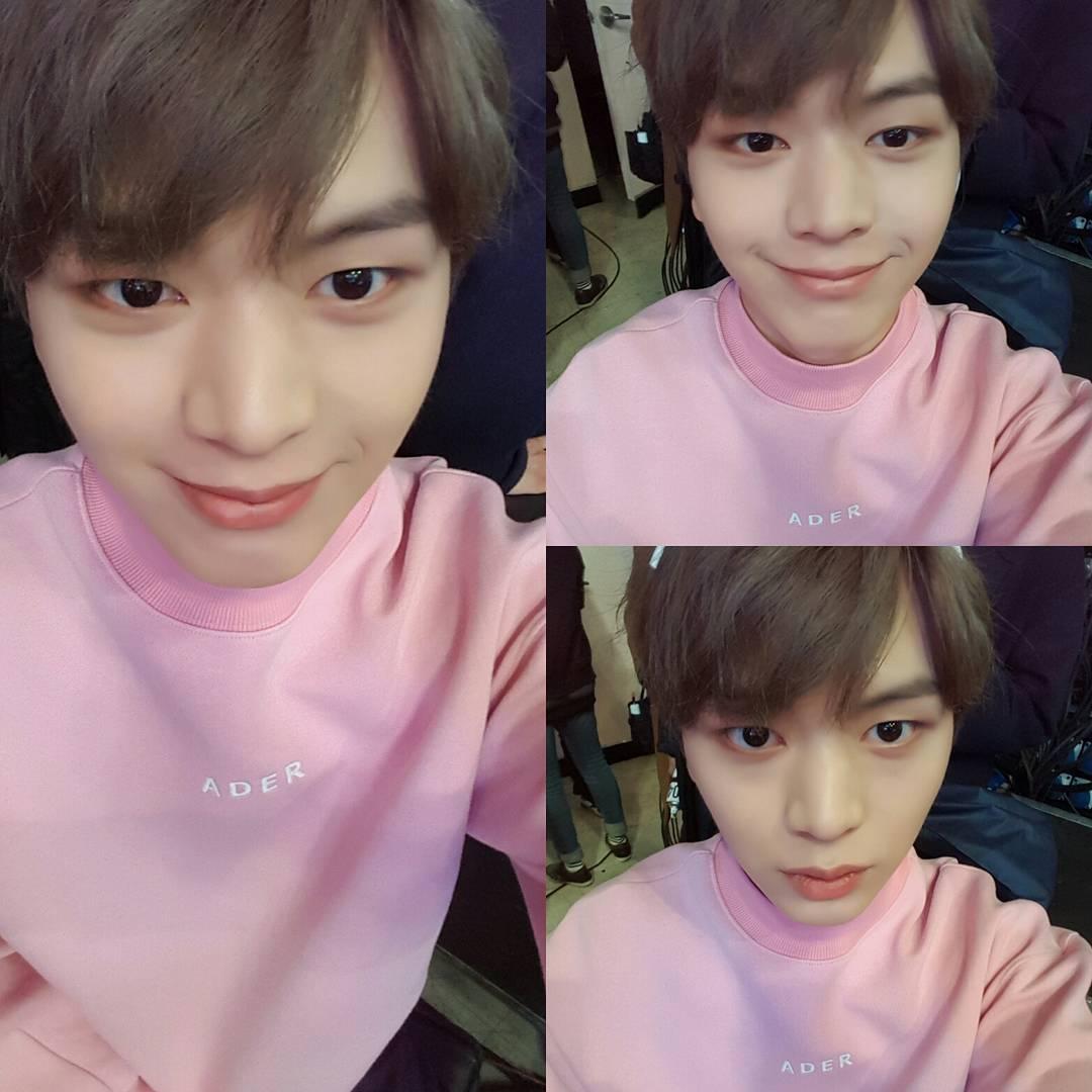 # 陸星材 平時不常穿粉色衣服,一穿就「少年感」爆發的陸星材,這麼一看是不是也覺得意外適合呢?