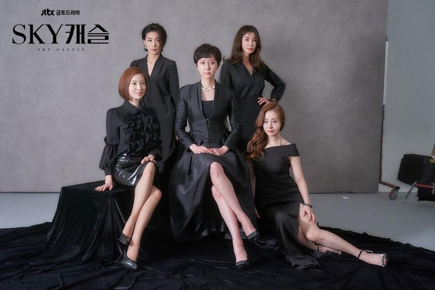 2018年11月底開播的JTBC金土劇《天空之城》,內容講述居住在韓國上流社會的「Sky Castle(天空之城)」中,一群為輔佐丈夫事業和培育子女成為富二代而無所不用其極的貴婦們