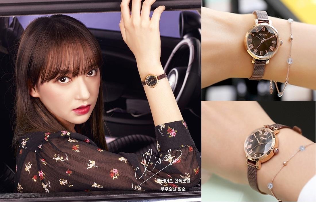#JULIUS 米蘭風尚立體切割鏡面腕錶 【原價1280->特價640,JULIUS全系列5折】: 如果不喜歡配戴飾品的話,就可以考慮戴手錶囉~想要展現女性魅力的話,就可以選擇JULIUS系列手錶(這季代言人是程瀟♥),全系列現在也是限時下殺5折,從千元價格變成千元有找,不買日後還對得起我的錢包嗎?!所以女神剛剛已經先下單3支了XDD