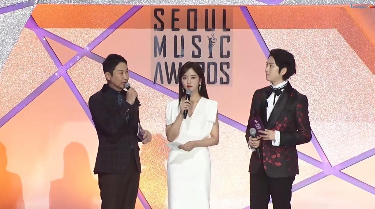今日(15日)在高尺巨蛋舉行第28屆《首爾歌謠大賞(Seoul Music Awards)》頒獎典禮,主持人為申東燁、金希澈、金所炫,來看看本屆得獎者吧!