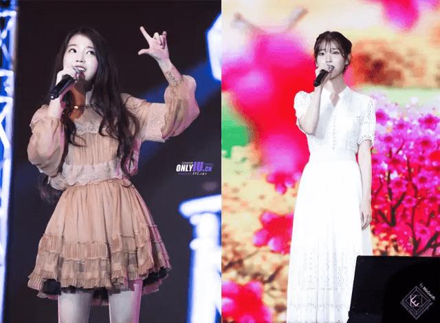 『IU』  年紀輕輕的IU已經憑著歌唱實力在韓國演藝界走紅了相當長的一段時間。她的造型師也以幫IU做造型而有名。