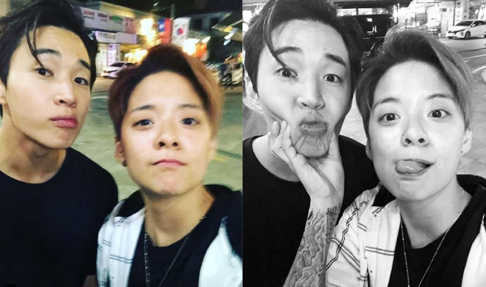#Henry&Amber  看他們的相處模式真的會被他們笑死ㅋㅋ兩人的個性都超搞笑,同是外籍身分來到韓國發展,擁有共通語言,十分合拍