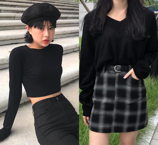 那麼在這種單一顏色的穿搭之下,要怎麼不讓自己變布幕呢?飾品的搭配千萬要顧到!各類帽款在全黑的前提下都可以非常合理(特殊形狀的我就不保證囉ㅎㅎ)適時搭上黑色皮帶也可以是穿搭的小亮點,而少量的深色系花紋也是這套偽女友穿搭可以接受的調整,只要不全身寬鬆,all black的失敗率不會高,穿得好還能顯瘦顯白,這也是all black能一直維持人氣的原因之一呀~