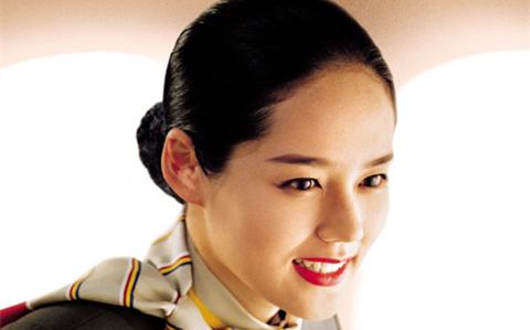 韓亞航空歷屆代言人美貌好比選美皇后