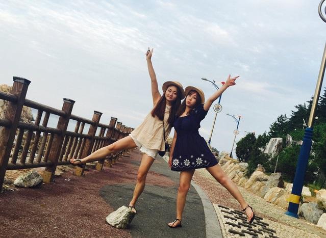 韓妞示範 ☆ 末夏の閨蜜旅行LOOK