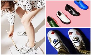 先不管格紋了,想買也未必搶得到的VANS懶人鞋款!