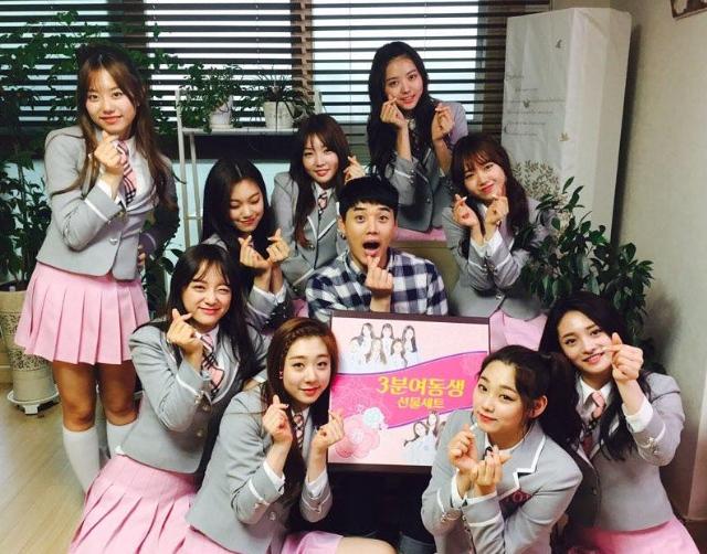 出演 tvN15禁節目 I.O.I 不顧形象完全崩壞 大玩變裝秀 !