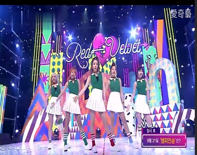Red Velvet《Russian Roulette》現場版0922