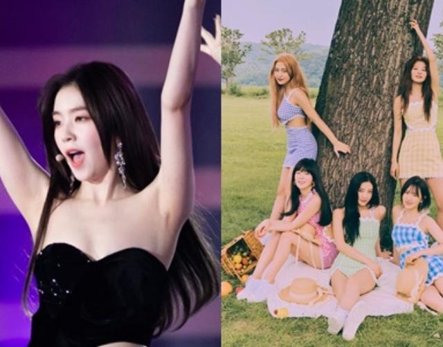 比IRENE露北半球還誇張!Red Velvet成員台上直接「大露底褲」?...現場照片引起韓網瘋傳!